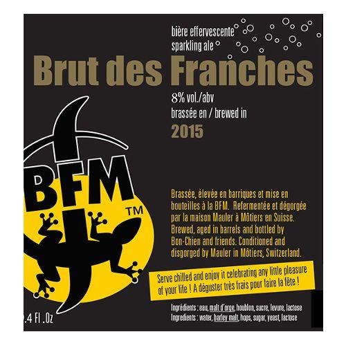 BFM 'Brut des Franches 2015' Sparkling Ale 750ml