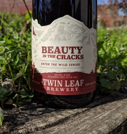 Twin Leaf 'Beauty in the Cracks' Barrel-aged Flanders Red Sour Ale 500ml