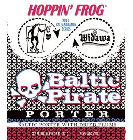 Hoppin' Frog x Widawa 'Baltic Pirate' Porter 12oz Sgl