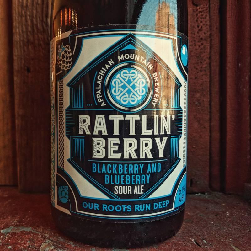 Appalachian Mountain Brewery 'Rattlin Berry' Blackberry & Blueberry Sour Ale 500ml