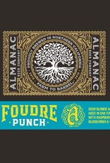 Almanac 'Foudre Punch' Sour Blonde Ale Aged in Oak w/ Raspberries, Blueberries, & Cherries 375ml