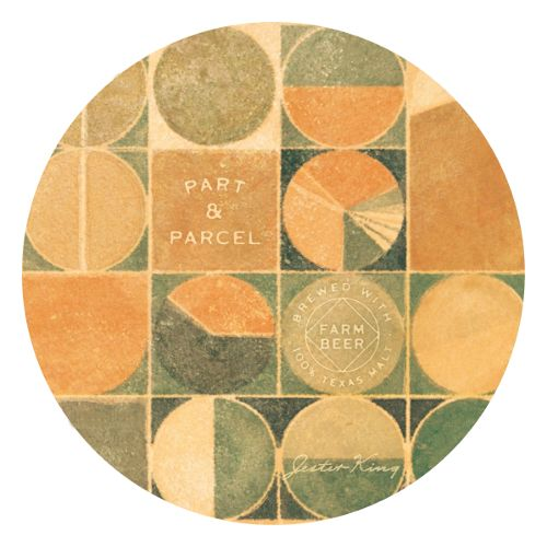 Jester King 'Part and Parcel' Ale brewed w/ 100% Texas Malt 750ml
