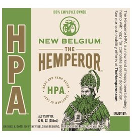 New Belgium Brewing 'Hemperor' IPA 12oz Sgl