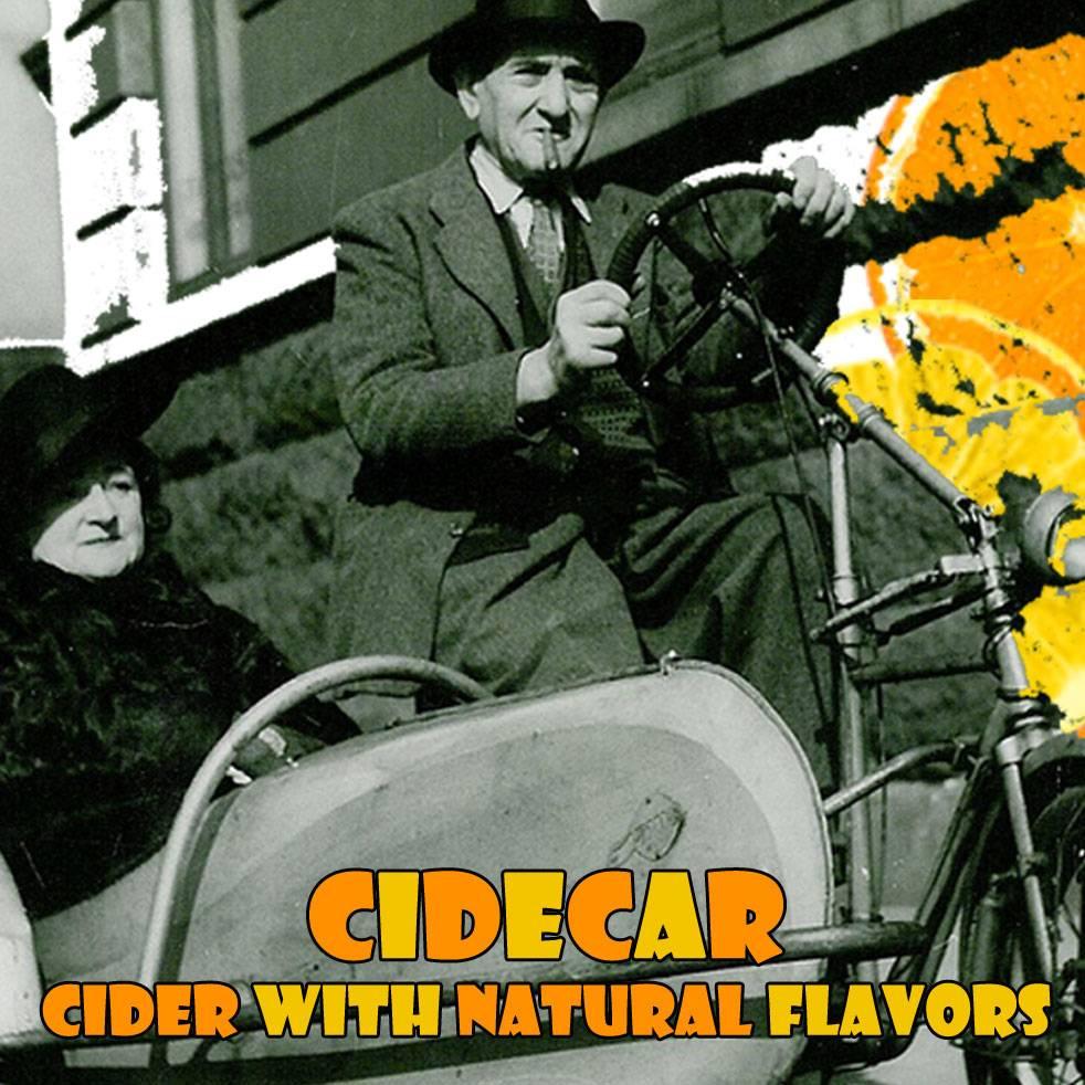 Botanist & Barrel 'Cidecar' Cider 375ml