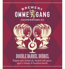 Ommegang 'Double Barrel Dubbel' 12oz Sgl