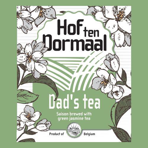 Hof Ten Dormaal 'Dad's Tea' Saison w/ Green Jasmine Tea 12oz Sgl