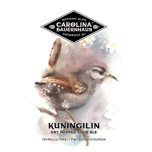 Carolina Bauernhaus 'Kuningilin' Dry-hopped Sour Ale 500ml