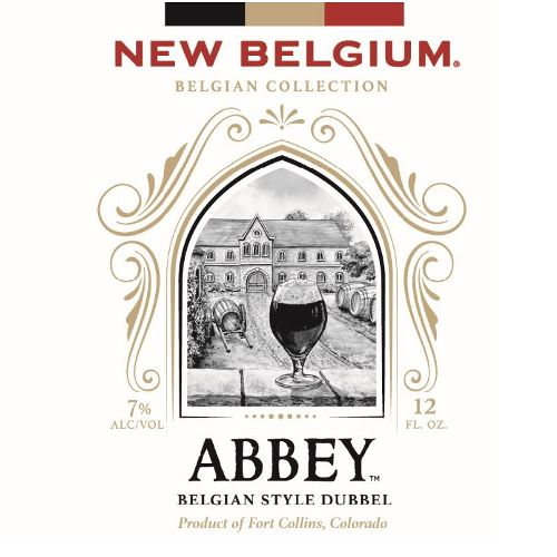New Belgium Brewing 'Abbey' Belgian Style Dubbel 12oz Sgl