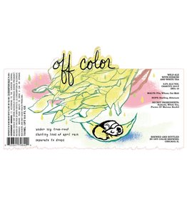 Off Color 'April Rain' Wild Ale 750ml