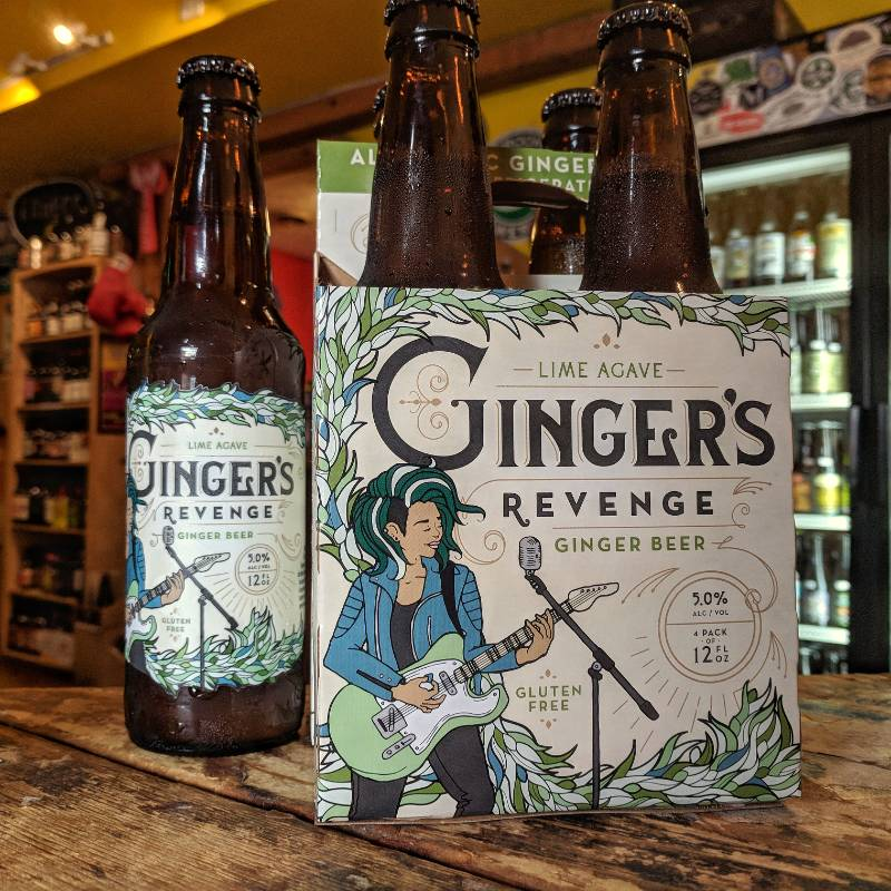 Ginger's Revenge 'Agave Lime' Ginger Beer 12oz Sgl
