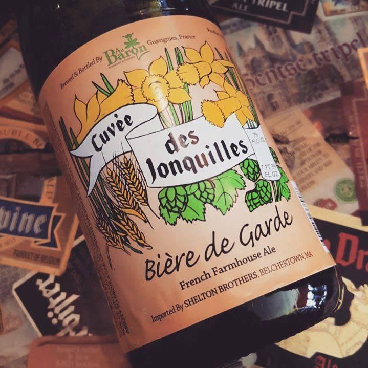 Au Baron 'Cuvee des Jonquilles' Biere de Garde 750ml