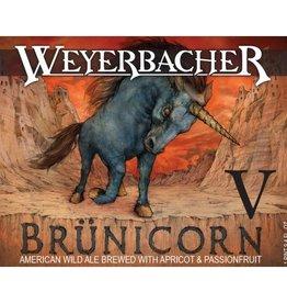 Weyerbacher 'Brünicorn V' American Wild Ale w/ Apricot & Passionfruit 750ml