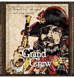 Heavy Seas 'Grand Crew' Red Wine Barrel-aged Belgian Amber 12oz Sgl