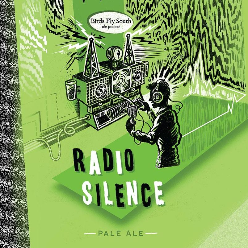 Birds Fly South Ale Project 'Radio Silence' Pale Ale 16oz (Can)