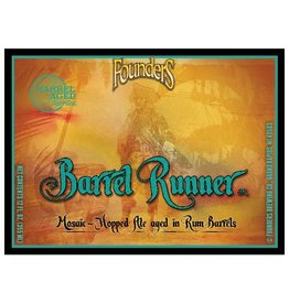Founders Brewing Co. 'Barrel Runner' Mosaic Hopped Ale Aged in Rum Barrels 12oz Sgl