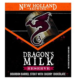 New Holland 'Dragon's Milk Reserve' Bourbon Barrel Stout w/ Cherry Chocolate 12oz Sgl
