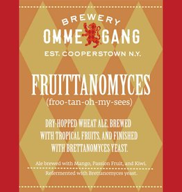 Ommegang 'Fruittanomyces' Dry-hopped Brett Wheat Ale w/ Tropical Fruits 750ml
