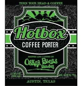 Oskar Blues 'Hot Box' Coffee Porter 12oz (Can)