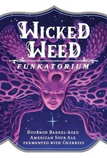 Wicked Weed 'Black Angel' Bourbon Barrel-aged Sour Ale w/ Cherries 500ml