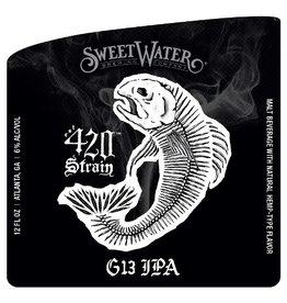 Sweetwater '420 Strain' G13 IPA 12oz Sgl