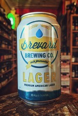 Brevard 'Premium American Lager' 12oz (Can)