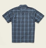 Howler Brothers Aransas SS- Avery Plaid: Steel Blue / Black