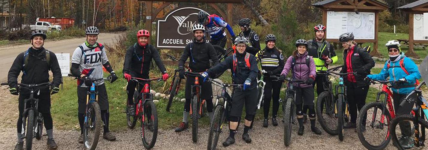 Rencontre d'informations du club de vélo de montagne