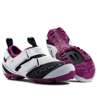 Northwave souliers F multi-app touring  blanc/violet