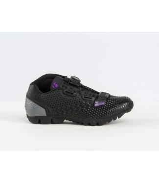 BONTRAGER Chaussure Bontrager Tario Noir/Mauve