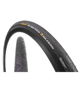 CONTINENTAL Pneu Continental Grand Prix 4-Season Tire - 700 x 28 Clincher Folding Black, 240