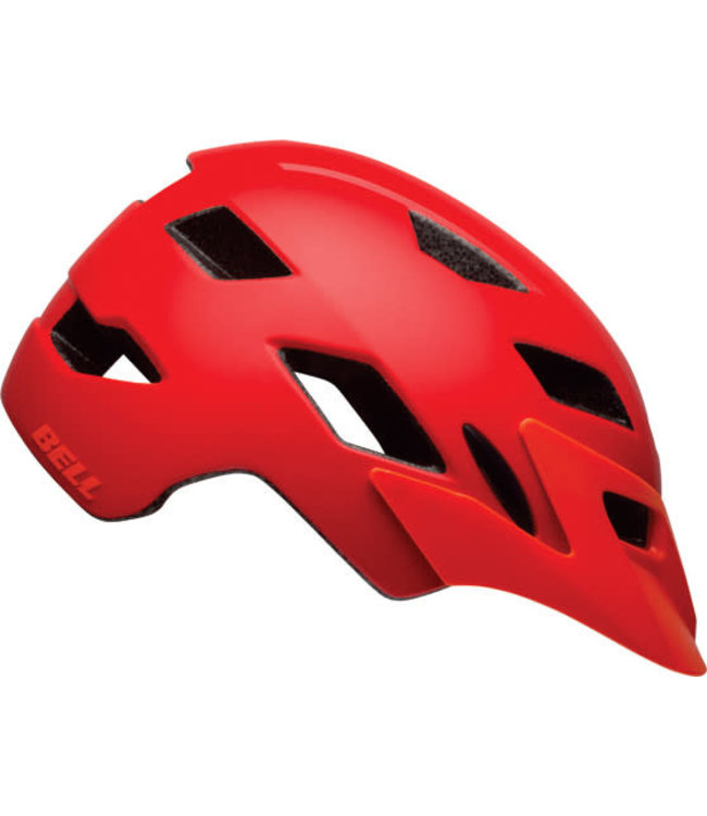 Bell Casque Bell SIDETRACK  Rouge Mat
