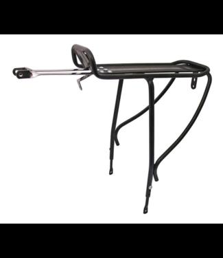 Evo Porte bagage Blaze arriere Compatible avec frein a disque Noir