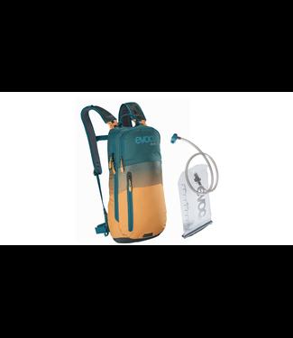 EVOC Sac D'Hydratation Evoc CC6 + Réservoir 2L Pétrole/Jaune