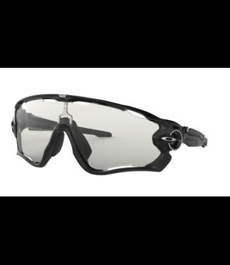 Oakley Lunette Oakley Jawbreaker Polished Black Clear to Black Photochromic