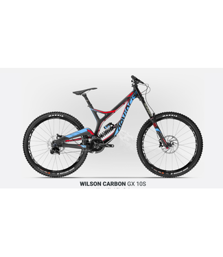 Devinci 19 Devinci Wilson Carbon 27 Gx 10s Noir/Bleu/Rouge