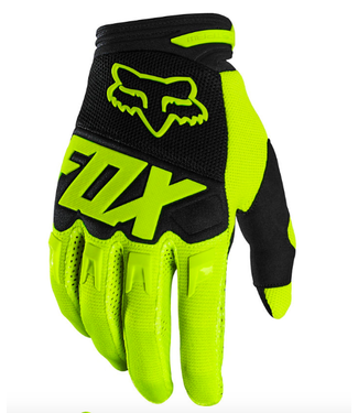 FOX Gants Fox Dirtpaw Flo Yellow