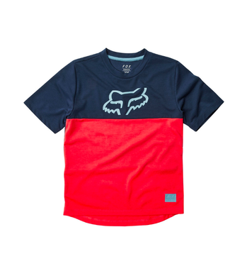 FOX Chandail Fox Junior Ranger SS Bleu/Rouge