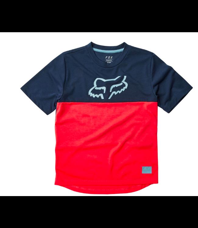 FOX Chandail Fox Junior Ranger SS Bleu/Rouge