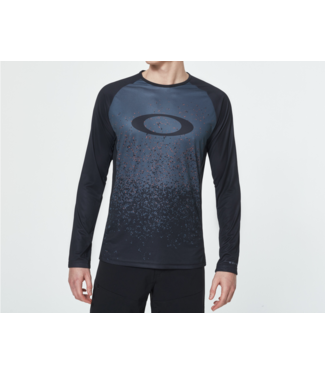 Oakley Chandail Oakley LongSleeve Tech Tee Grey Pixel
