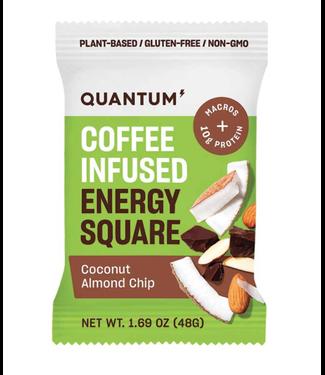 quantum Barres Quantum Squares Amandes/Noix de coco