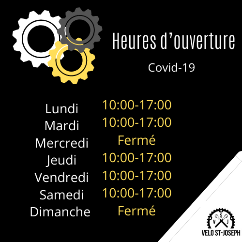 horaire covid