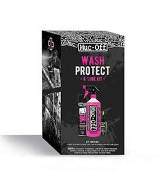 Muc-Off Kit d'Entretien Muc-Off Wash Protect & Lube Maintenance Kit - Dry Lube