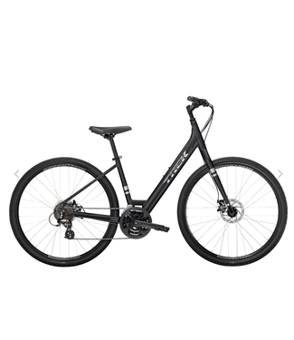 TREK 21 Trek Verve 1 Disc Dnister Black Low-step
