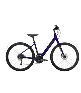 TREK 21 Trek Verve 3 Low-step Purple