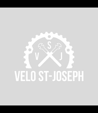 Vélo St-Joseph Bumper Sticker Vélo St-Joseph Blanc 4'' x 6''
