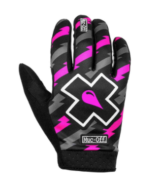 Muc-Off Gants Muc-Off MTB Ride Unisexe Rose/Noir