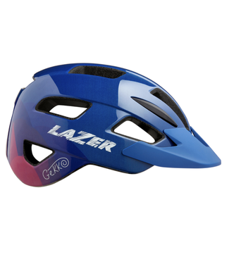 Lazer Casque Lazer Gekko Bleu/Fushia 50-56cm
