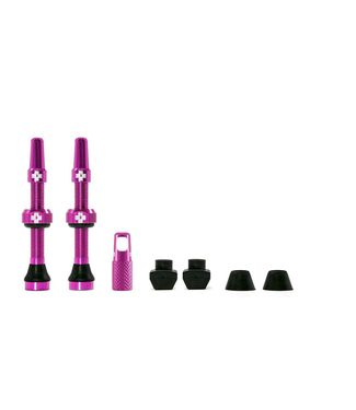 Muc-Off Muc-Off Valve Tubeless  Presta 44mm Rose Paire