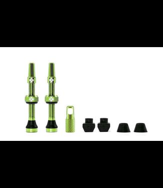 Muc-Off Muc-Off Valve Tubeless  Presta 44mm Vert  Paire