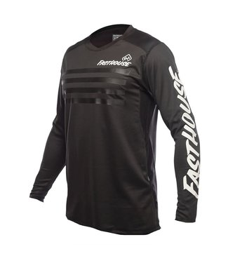 Fasthouse Maillot Fasthouse Alloy Stripe Jersey Noir